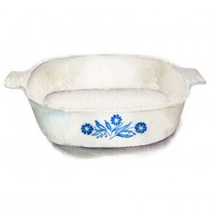 Dahm, Caryn - Cornflower Blue Corningware