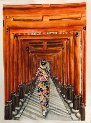 Wellman-Doute, Jessie - Walking The Torii Gates