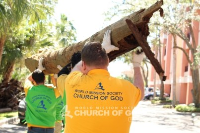 world mission society church of god, wmscog, church of god, church of god in florida, church of god in tampa, tampa, florida, yellow shirt volunteers, harbour island, environmental protection, environmental cleanup