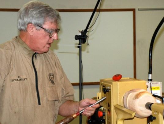 Al Hockenberry at work.JPG