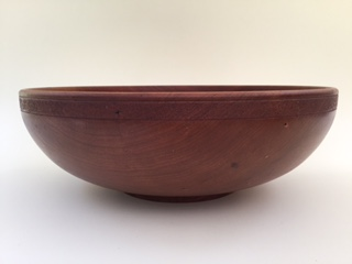 Smooth Edge Cherry Large Salad Bowl