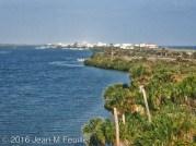 Vue de New Smyrna Beach du Parc Canaveral Seashore