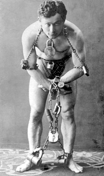 Harry Oudini en 1899.