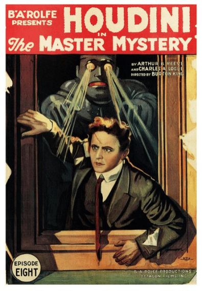 Affiche de The Master Mystery, 1919.