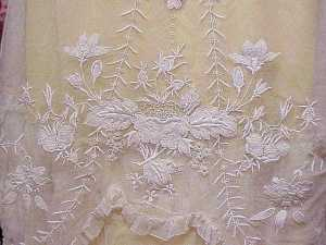 Embroidered Dress detail