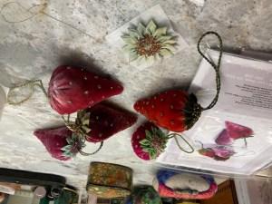 Velvet Strawberries