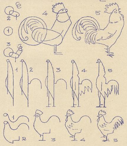 Exemplu din cartea de desen pentru copii