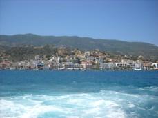Vedere panoramica Halkidiki din Poros