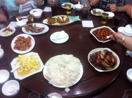 Pranz in Zhujianjiao