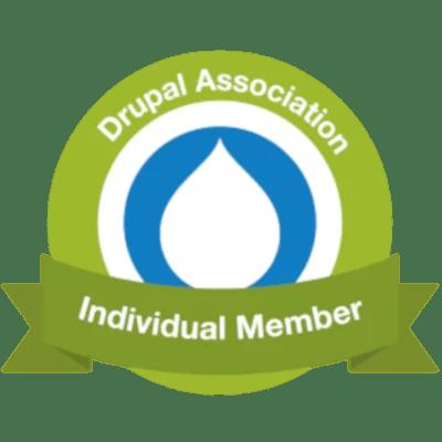 Membre de l'association Drupal