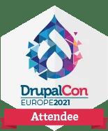 DrupalCon Europe 2021 - Participant