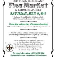 Flea Market & Farmers Market on July 15