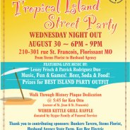 Wednesday Night Out – Tropical Island Party – August 30