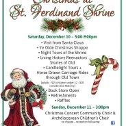 Christmas at St. Ferdinand Shrine – Dec. 10-11