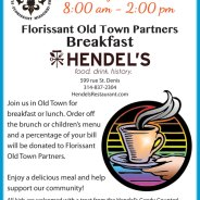 Old Town Annual Breakfast at Hendel's on March 4