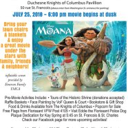 Family Fun & Movie Night on July 25
