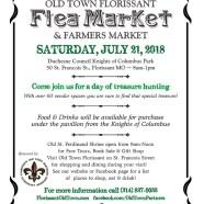 Flea & Farmers Market on Saturday, July 21