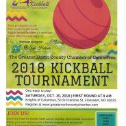 2018 Kickball Tournament – Oct. 20