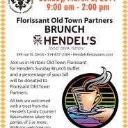 Florissant Old Town Partners Brunch @ Hendel's – March 3