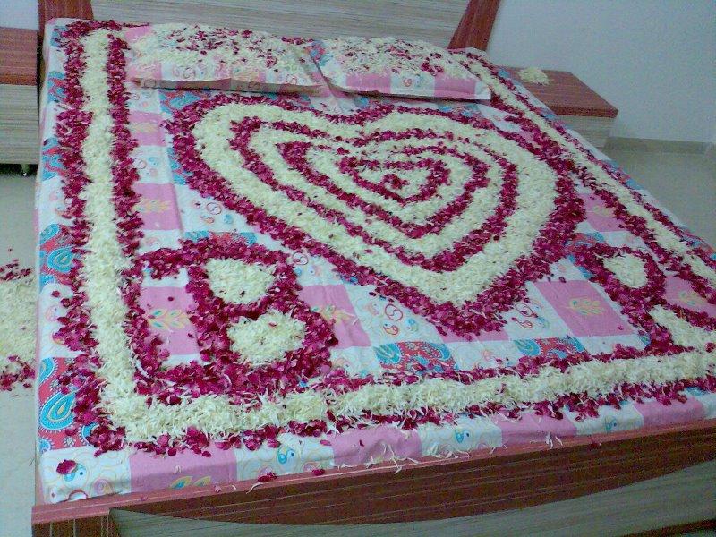 bedroom decoration florist ahmedabad