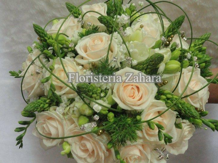 Ramos de novia de rosas
