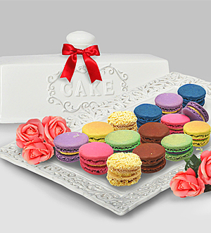 Fabulous Birthday Cake Macarons Delivery Premium Online Florist In Personalised Birthday Cards Paralily Jamesorg