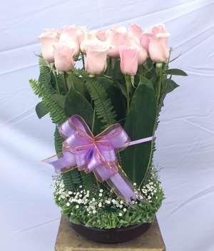 Versos de cariño docena de rosas para Arreglos florales Tijuana - Florerias en Tijuana
