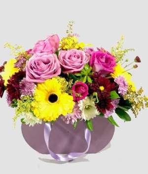 arreglo de rosas rosas. Arreglos florales Tijuana - Florerías en Tijuana