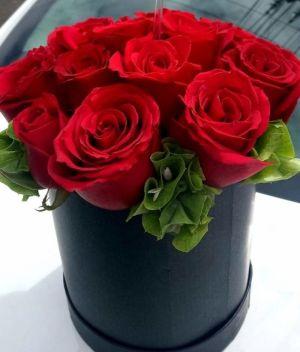 Caja de rosas chica, Arreglos florales, Envía flores a domicilio en Tijuana
