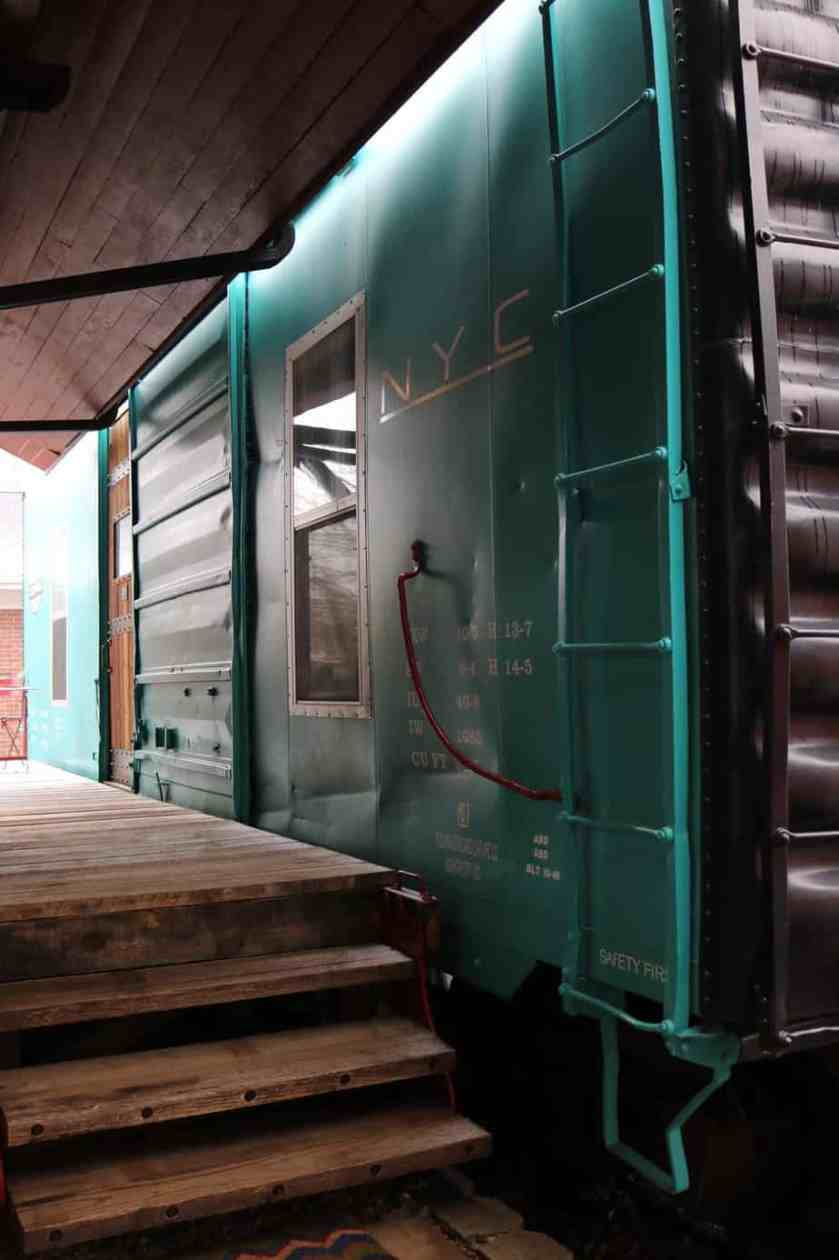 Riley's Railhouse Bed and Breakfast-Renovated New York Central Boxcar