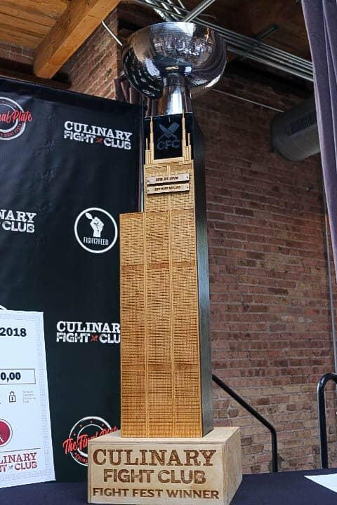 Culinary Fight Club Winner's Trophy