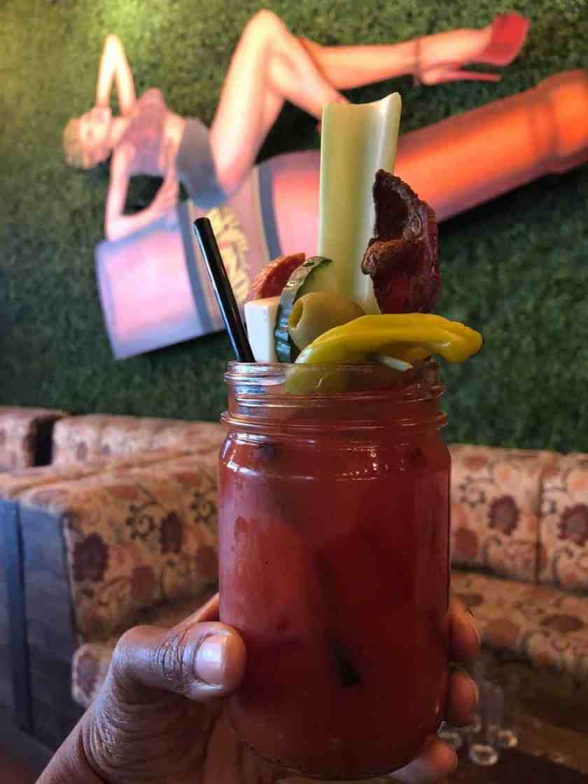 Bottled Blond Bloody Mary