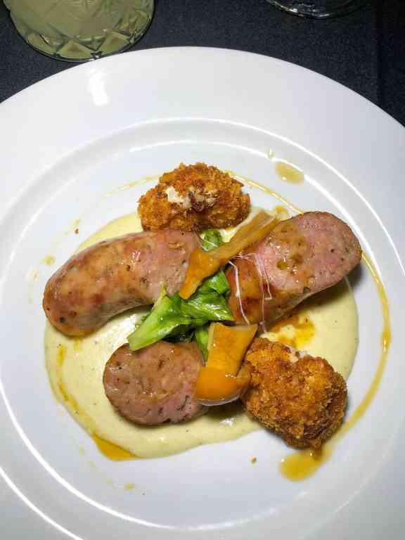 DineAmic Group Chefs Jeremy Tannehill and Kevin Abshire's Proscuitto Sausage
