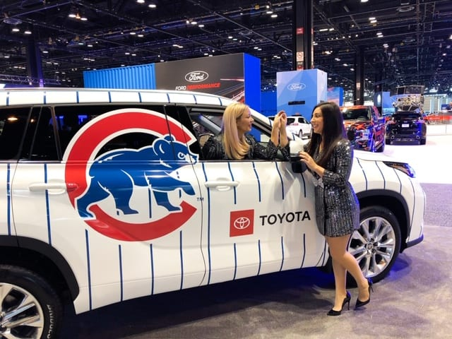 Girls Night at Chicago Auto Show