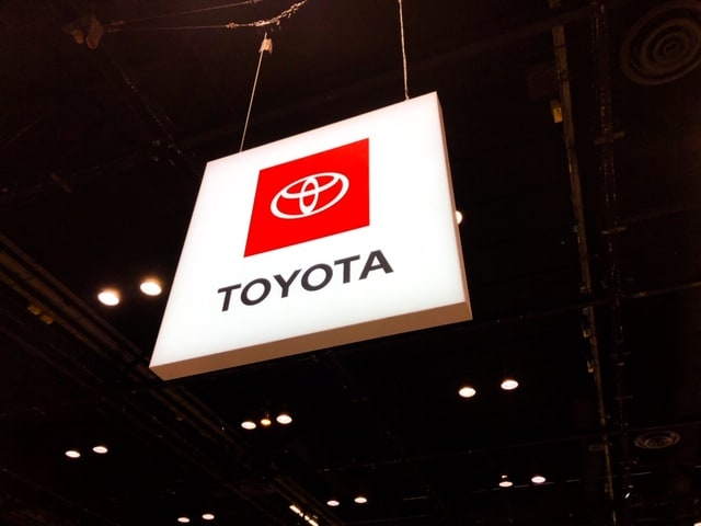 Chicago Auto Show Toyota Exhibit