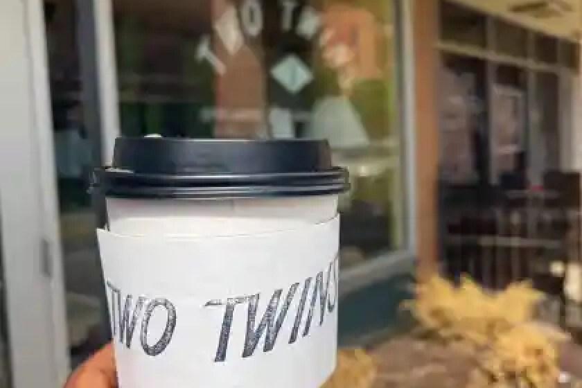Two Twins coffee in downtown kalamazoo, michigan