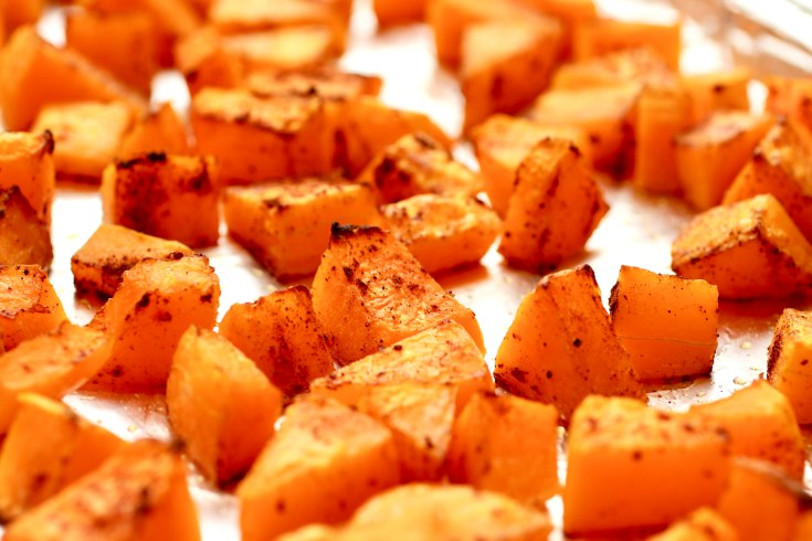Speculoos Spice Roasted Butternut Squash