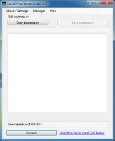 Edit Bootstrap.ini UI