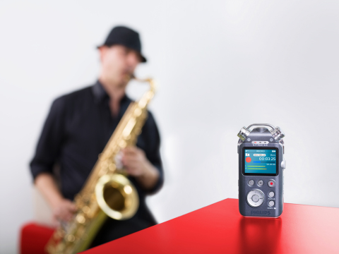 Philips Launches Brand-New Music Audio Recorder Excellent High Fidelity Sound