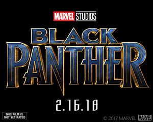2018 ‧ Black Panther Movie logo