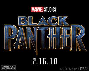 2018 ‧ Black Panther Movie logo