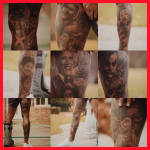 ODELL BECKHAM Tattoos via Gangatattoo