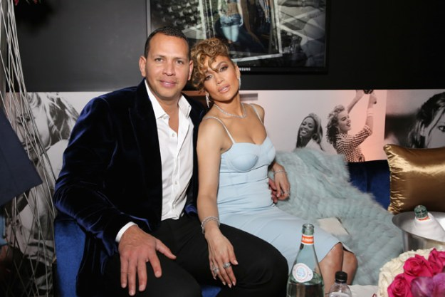 Jennifer Lopez and Alex Rodriguez Fashion & Style at Guess Spring 2018 Event – Pics Here!
