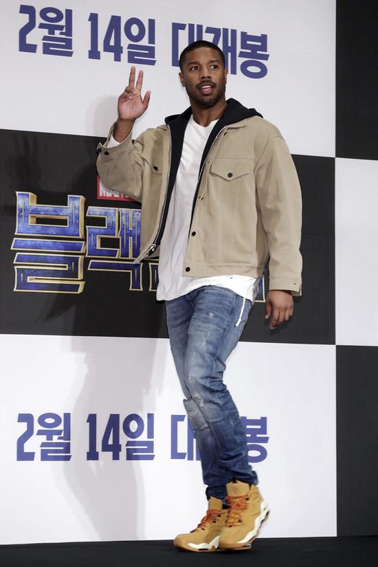 """0d4893a94 Black Panther"""" Seoul Premiere Fashion Lupita Nyong'o, Michael B ..."""