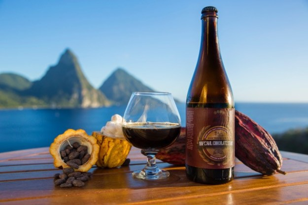 St. Lucia's Jade Mountain launches Imperial Chocolate Stout – Details Here! #StLucia #ChocolateStout