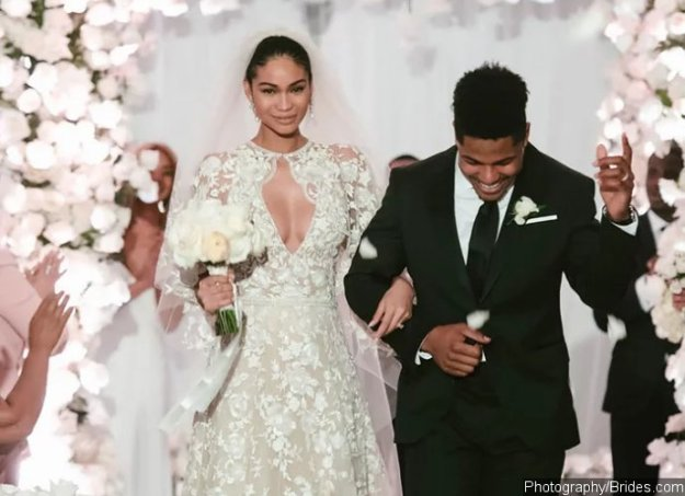 Supermodel Chanel Iman and NY Giants' Sterling Shepard Tie-the-Knot – See Pics Here!