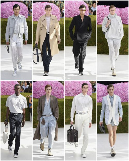 Dior Homme Spring 2019 Menswear Collection – Runway Pics Here!