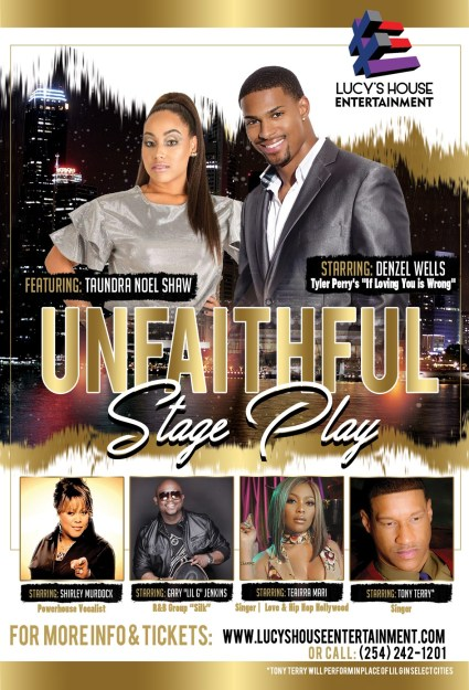 Shirley Murdock, Denzel Wells, Teairra Mari and Gary 'Lil G' Jenkins to Star in Touring Play The Unfaithful – Details Here!