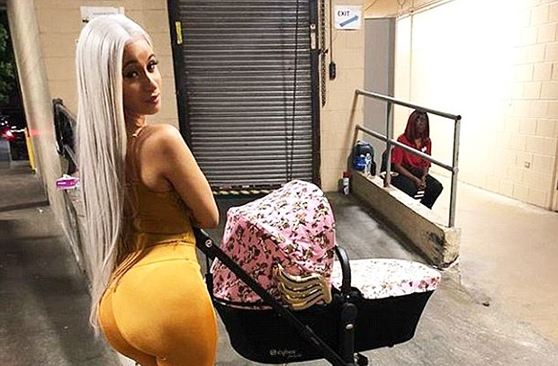 Cardi B Is Handling Motherhood With A Stride – Details Here!