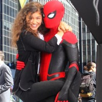 """Zendaya on The Set of """"Spider-Man: Far From Home"""" - Pics Here!"""